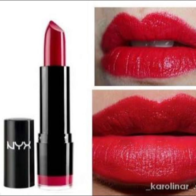 NYX Lipstick Chic Red LS516A