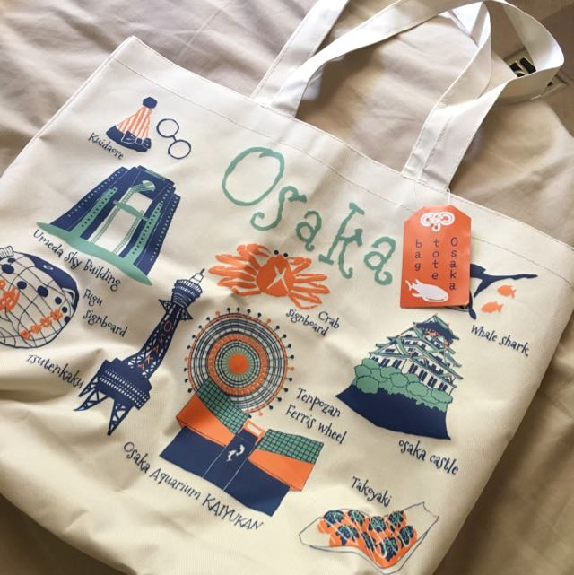 Osaka Souvenir Tote Bag