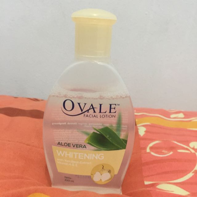 OVALE FACE LOTION / MAKE UP REMOVER ALOE VERA