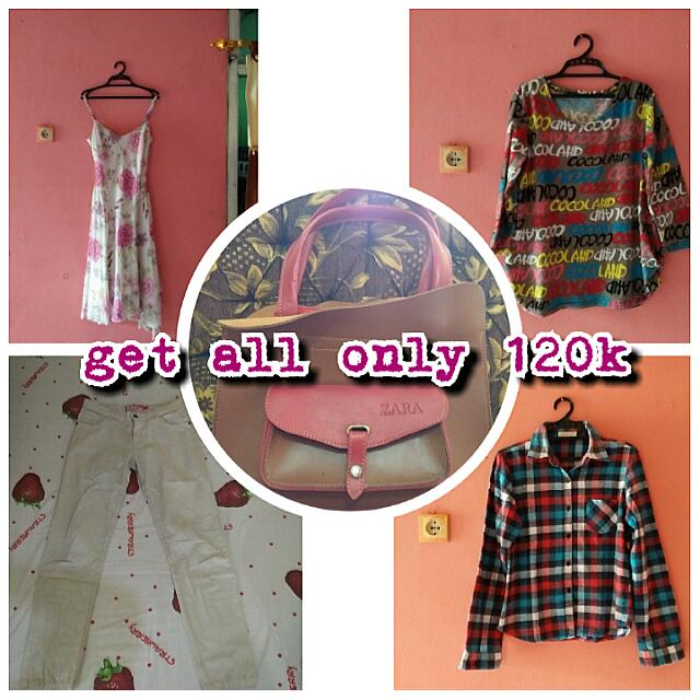 Paket All Item Only 120k