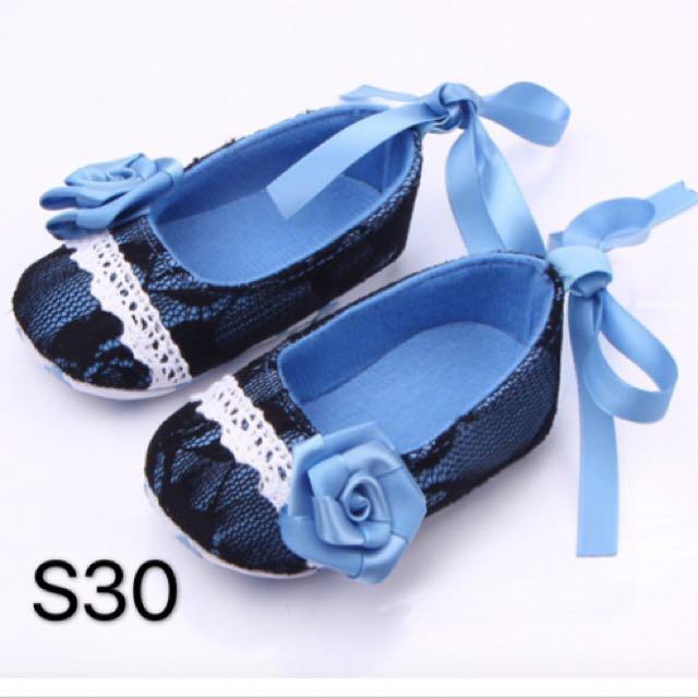 Prewalker Baby Shoes Blue Vieena