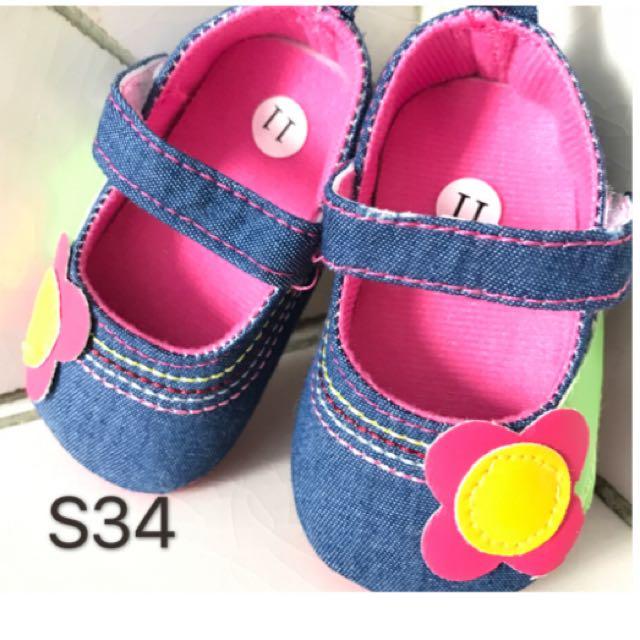 Preloved Prewalker Baby Shoes Next Jeans Daisy