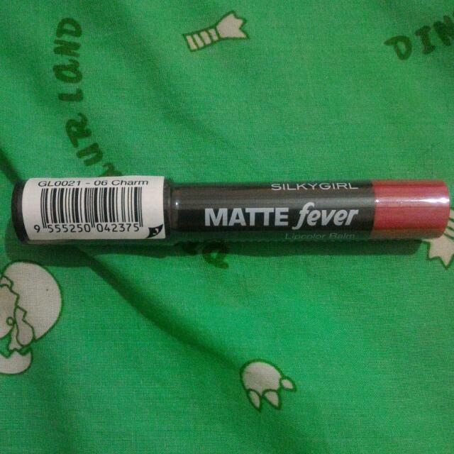 Ready STOCK  Mate Fever Lipcolor Balm Silky Girl