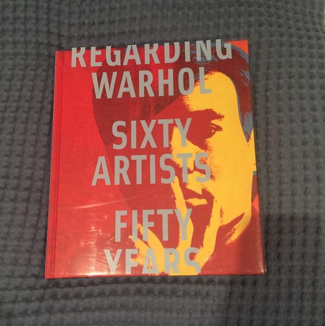 Regarding Warhol Coffee Table Book