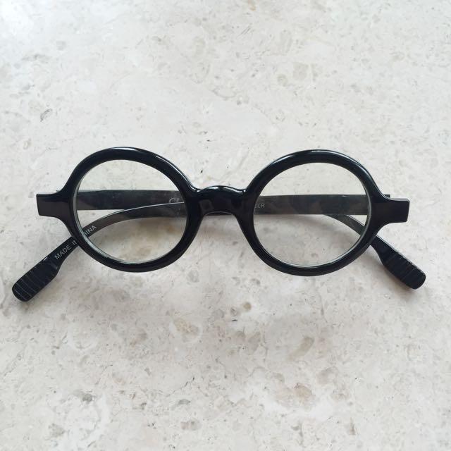 Round Nerd Glasses