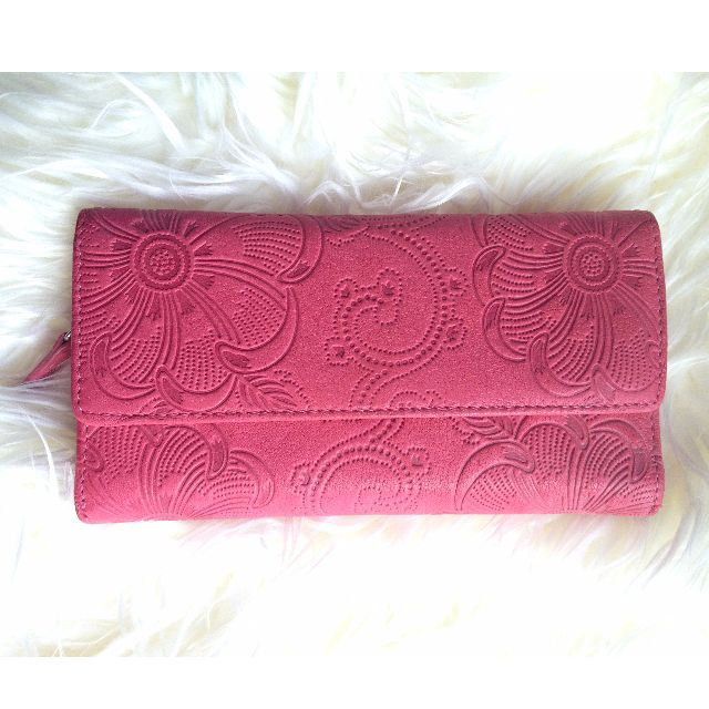 Saddler Pink Leather Wallet