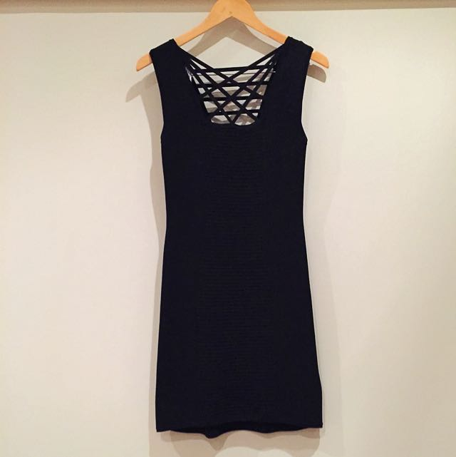 SASS AND BIDE BANDAGE STYLE DRESS