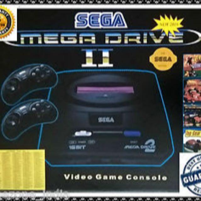 SEGA MEGA DRIVE 2 REMAKE INC 30 GAMES