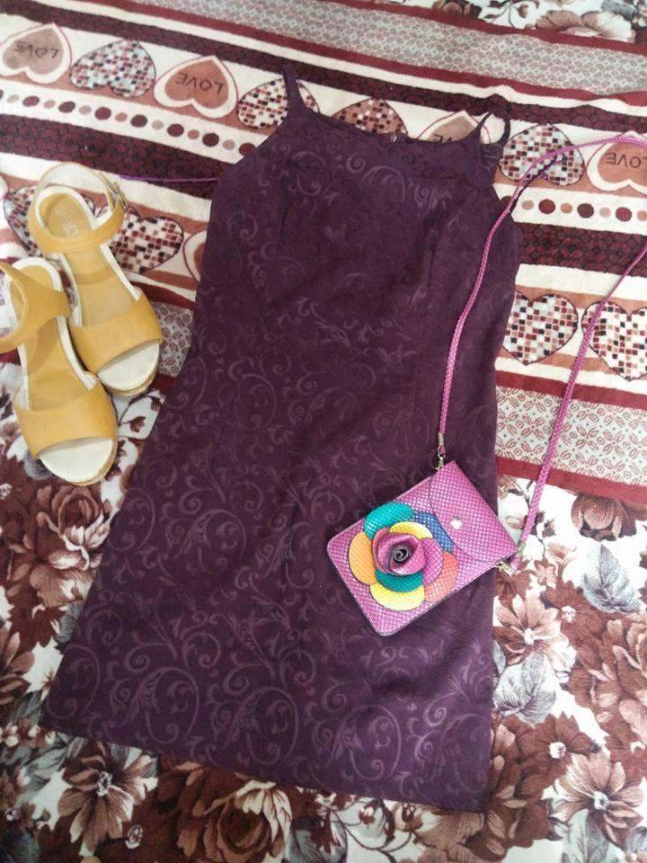 Semi Halter Dress