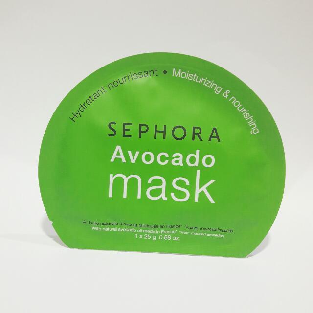 SEPHORA Avocado Mask Sheet (25 Gram)