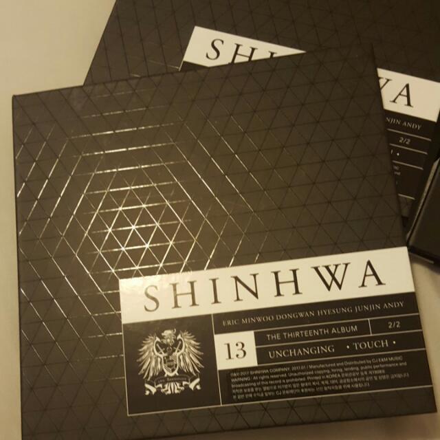 Shinhwa 13th Album *unchanging Pt2* TOUCH