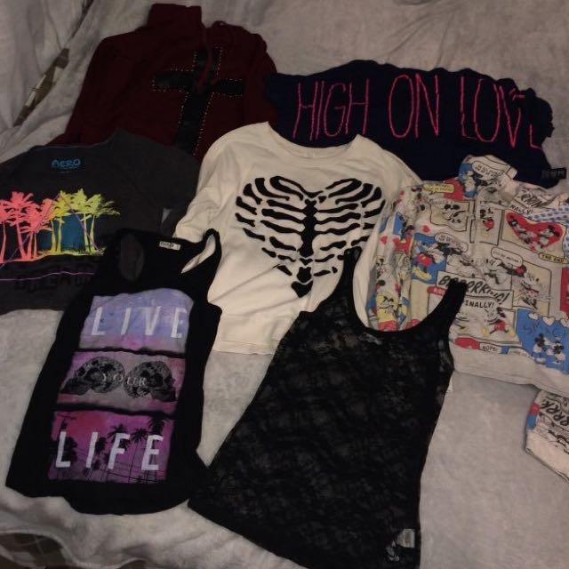 Shirt/Sweater Bundle!👽💓