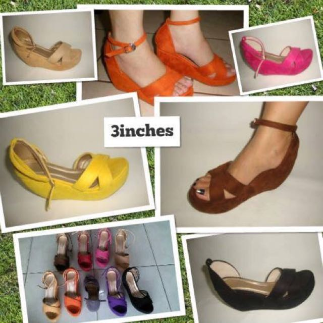 Shoes (heels,wedges, Doll Shoes And Sandals)