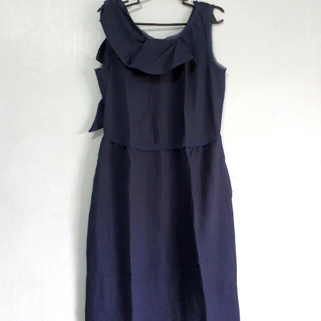 Simply Vera Wang Dark Blue Dress