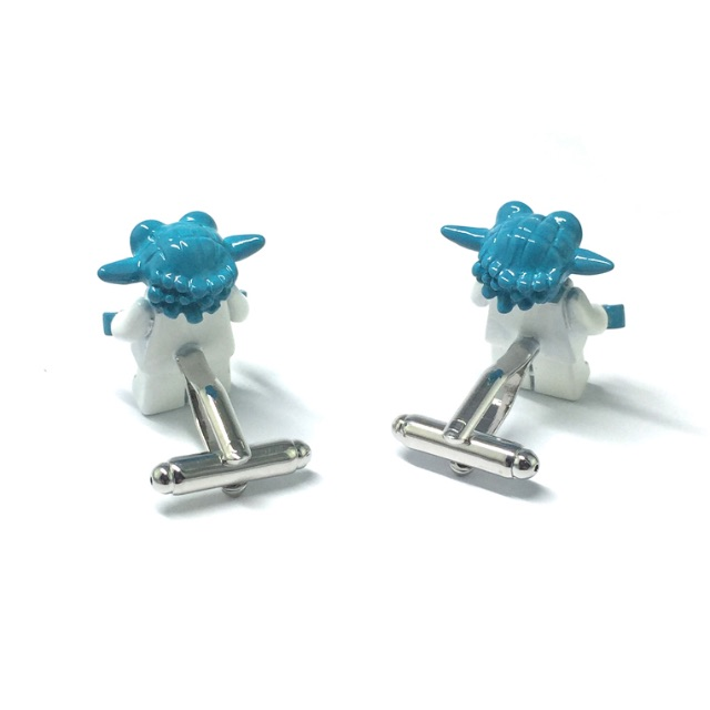 Star Wars Metal Lego Figurine Yoda Cufflinks