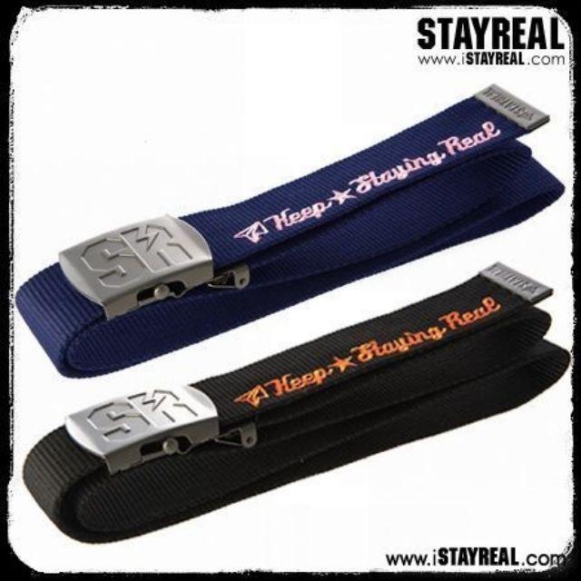絕版STAYREALMax SR Belt 大SR腰帶經典款