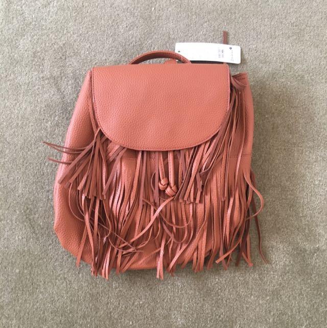 Striking Brown Bag