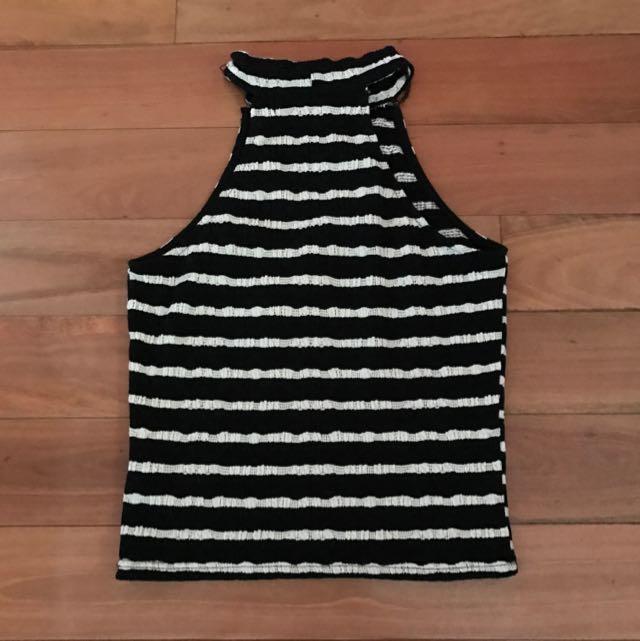 Stripe Crop 🌸