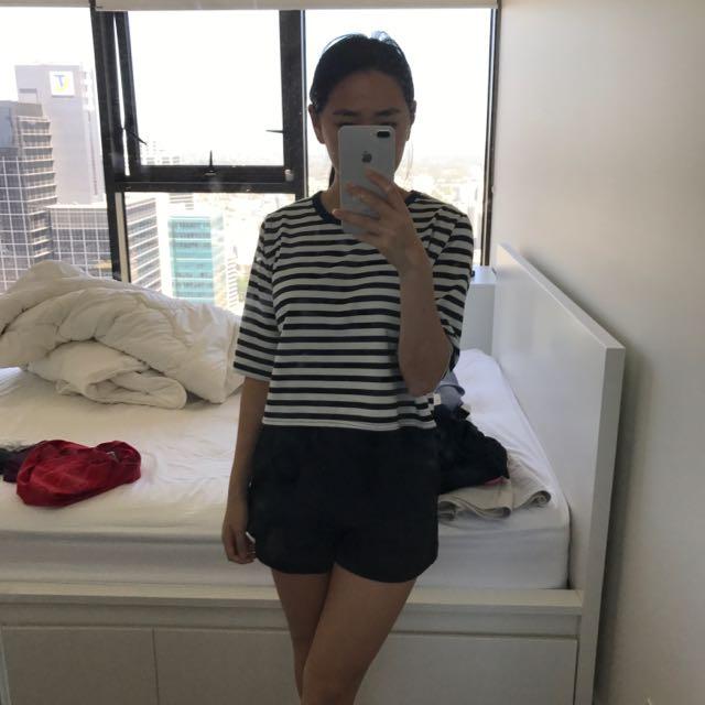 Stripy Top Size 8 $5