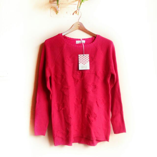 Free ONGKIR! Sweater Love