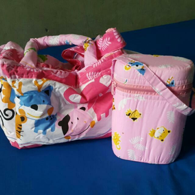 Tas Bayi LustyBunny Pink New
