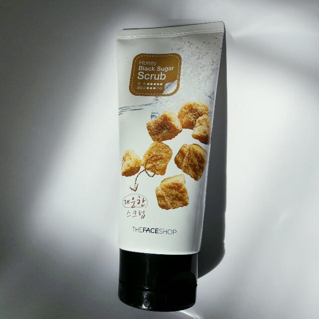The Face Shop Honey Black Sugar Scrub 120ml