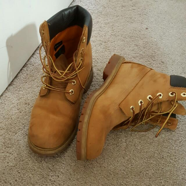 Timberlands Size 10 Womens