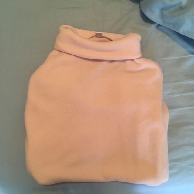 UNIQLO Pink Turtleneck