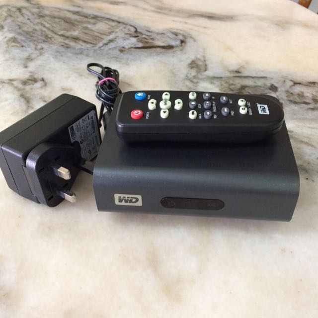 WD TV Live HD Media Player, Home Appliances, TVs