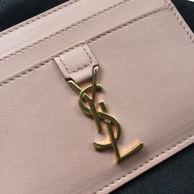 YSL Saint Laurent Authentic Card Holder