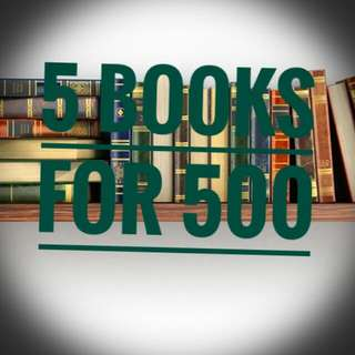 5 Books For 500