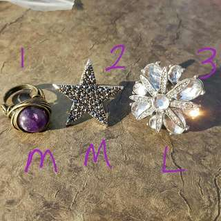 [LOT C] NEW Rings, Necklace, Hair Accesories, Bangles and Bracelets