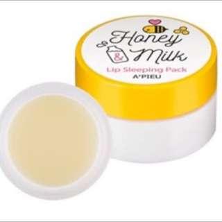 APIEU蜂蜜牛奶護唇膏