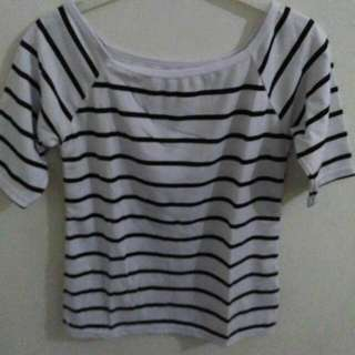 Strips Blouse Sabrina