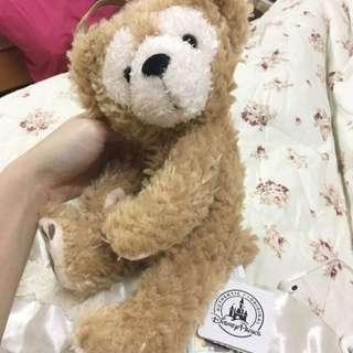 香港迪士尼 達菲Duffy拉鍊掛包