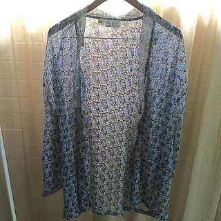 TREE Of LIFE Floral Batwing Kimono One Size