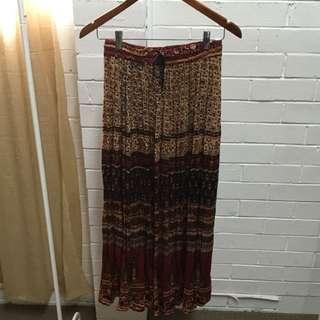 TREE Of LIFE Bohemian Maxi Skirt Free Size (one size)