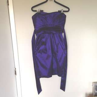 Pagani Formal Purple Dress Size 10