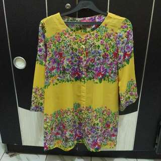 Blouse Graphis Flower