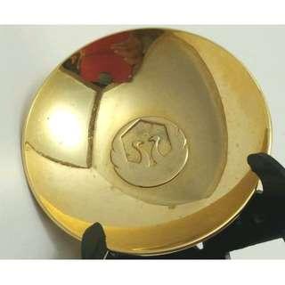 日本金杯24kgp金盃浮雕祝盃