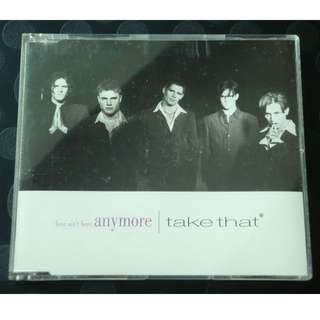 CD Single: Take That - Love Ain't Here Anymore