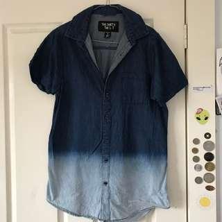 Gradient Blue Shirt