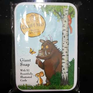 The Gruffalo Giant Snap Cards