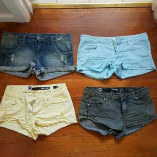 All 4 For $20 Size 8 Top Two Rusty Bottom Two Factorie