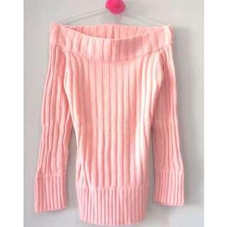 Sabrina Baby Pink Sweater
