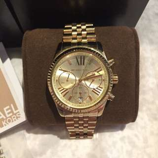 Michael Kors - Lexington Watch - Gold
