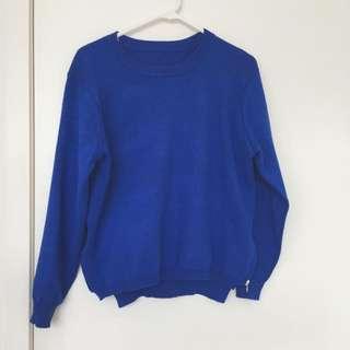 Royal Blue Sweater (super good quality)