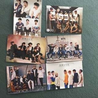 BTS & EXO UNOFFICIAL POSTERS