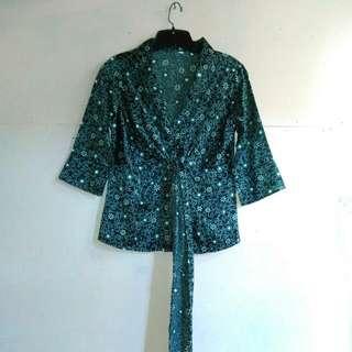 Monochrome Kimono Outer