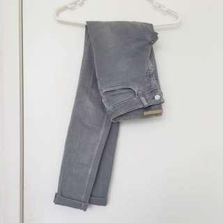 [New] SABA low-waist Skinny in Grey
